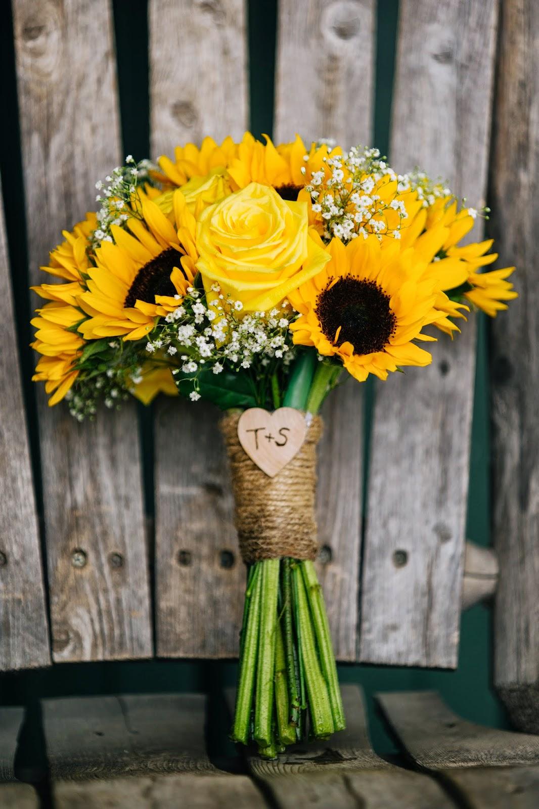 Lovely Honeypie Yellow Wedding Flowers