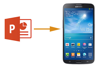 powerpoint on galaxy mega 6.3