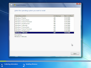Unified Windows 7 Installer for x64 and x86