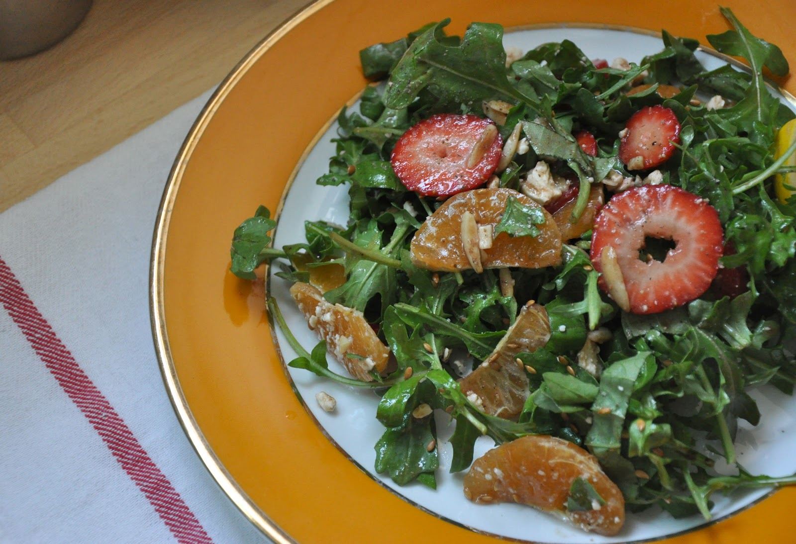 FARMERS MARKET salad. - A Fashion Gal & A Fireman - February 2012
