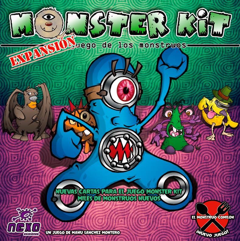 Expansión de Monster kit y El monstruo comilón