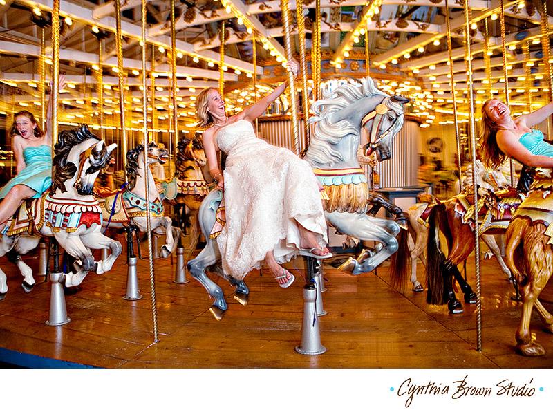 the wandering bride carousel wedding
