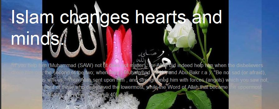 Islam Changes Hearts and Minds