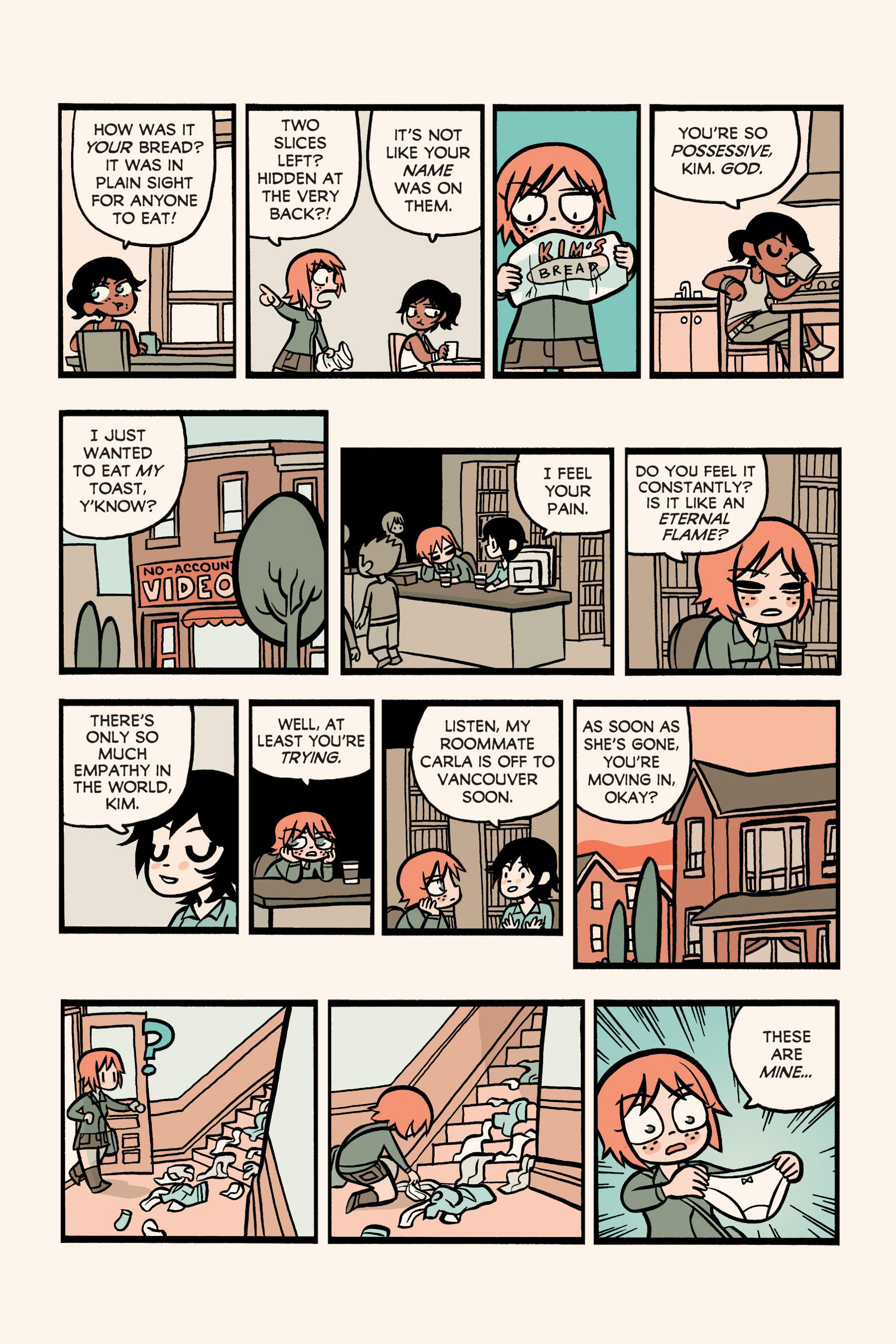 Read online Scott Pilgrim comic -  Issue #3 - 197