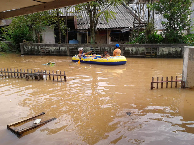 Banjir Rendam Parigi Mountong