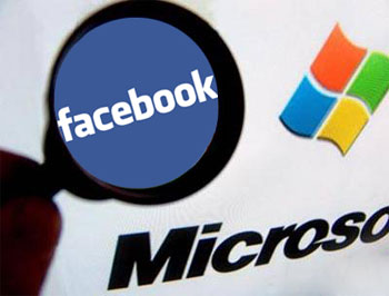 Microsoft y Facebook