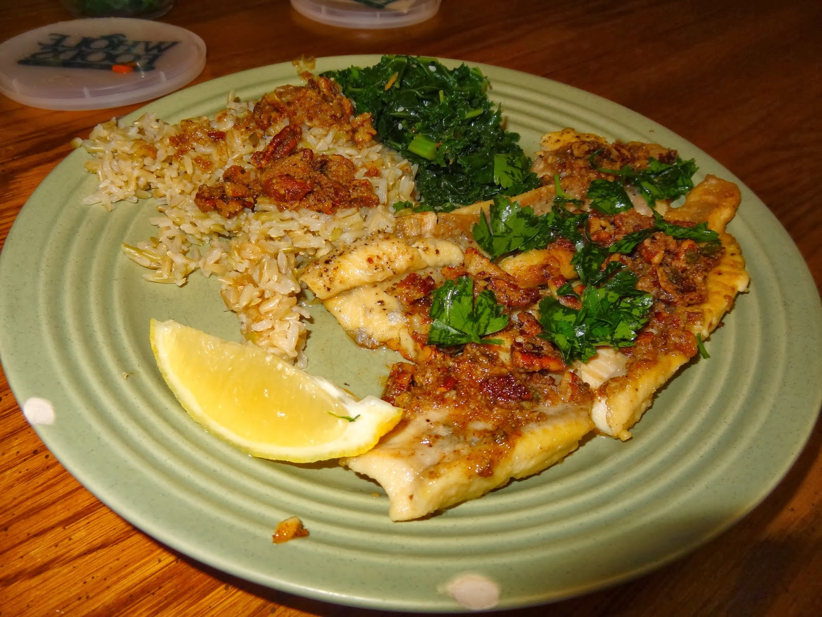 Papa's Whimsy: Pan-Seared Trout with Pecan Brown Butter