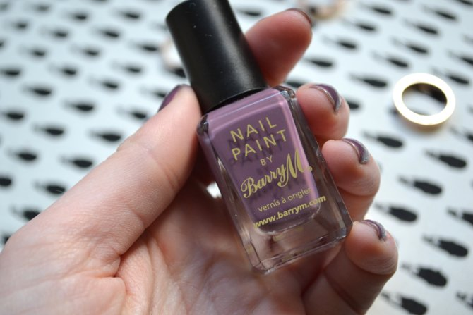 Barry M Nail Paint- Vintage Violet