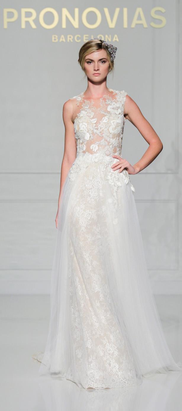 Colección de vestidos de novias New York Week | Casa nupcial Pronovias 2016