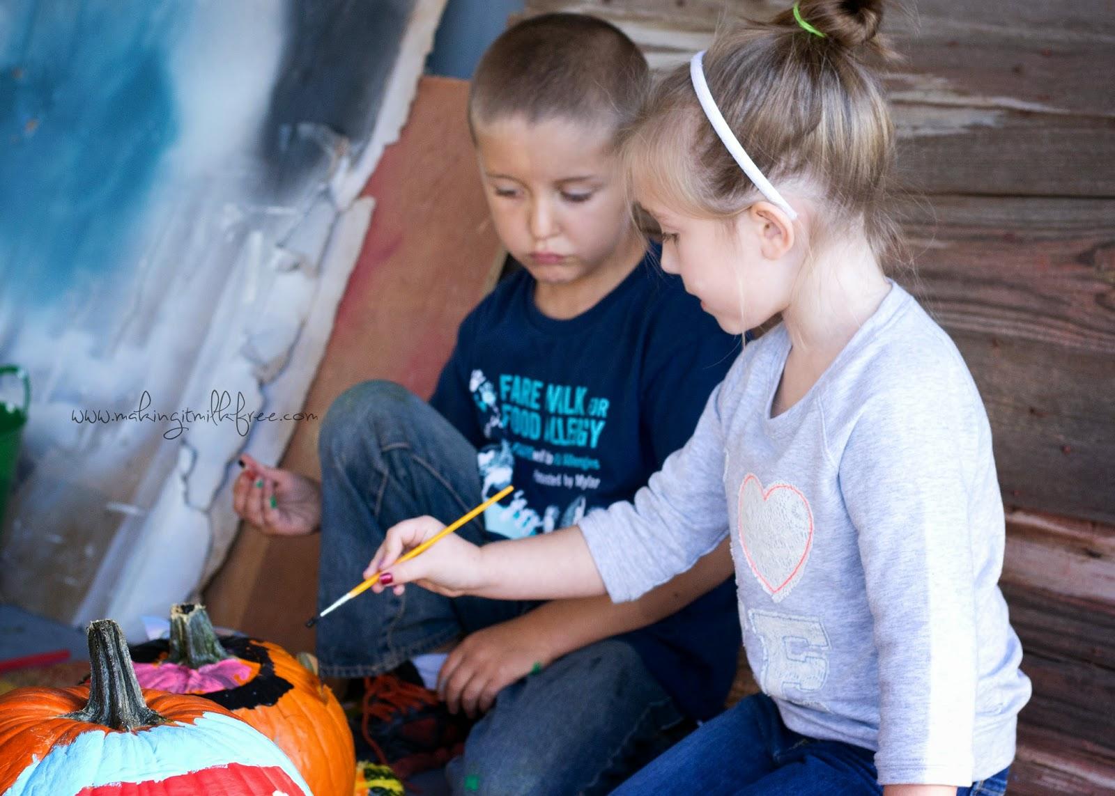 #paintedpumpkins #fall #halloween #pumpkins