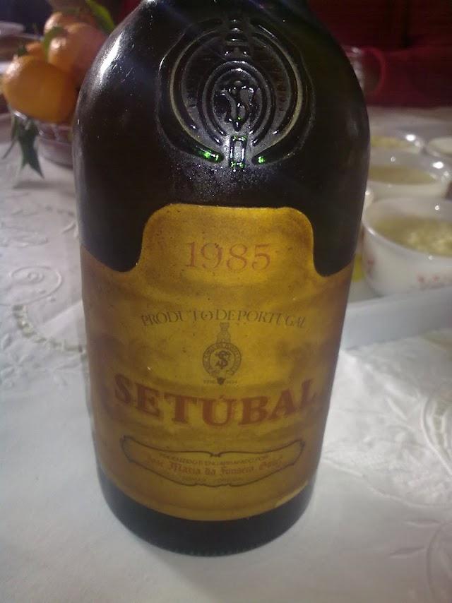JMF Moscatel de Setúbal 1985 - O Torna-Papagaio - reservarecomendada.blogspot.pt