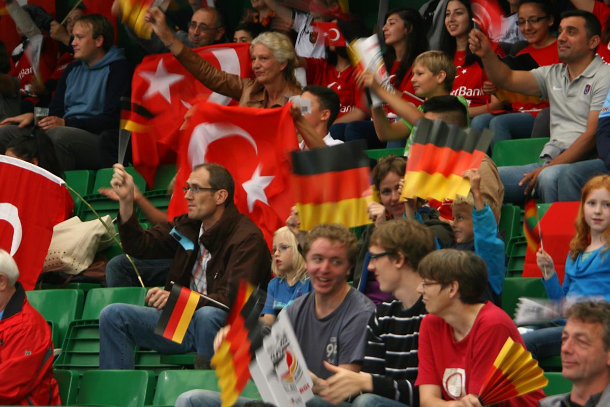 volleyball deutschland türkei