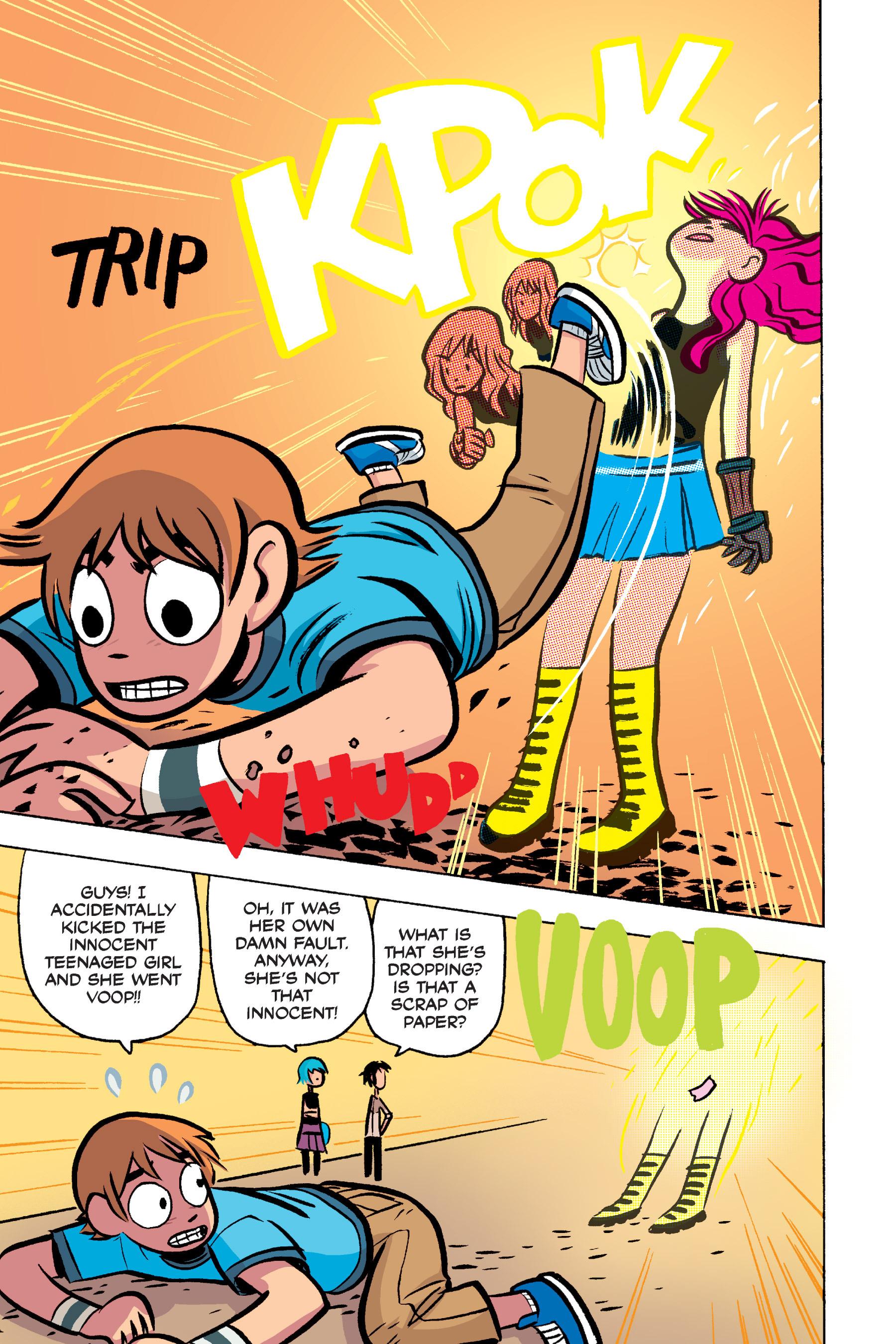 Read online Scott Pilgrim comic -  Issue #3 - 189