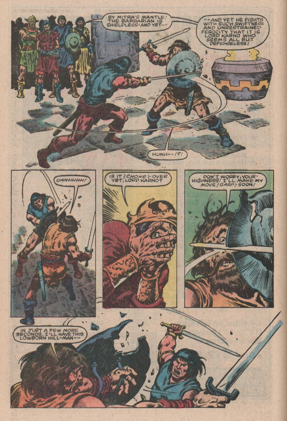 Conan the Barbarian (1970) Issue #157 #169 - English 6