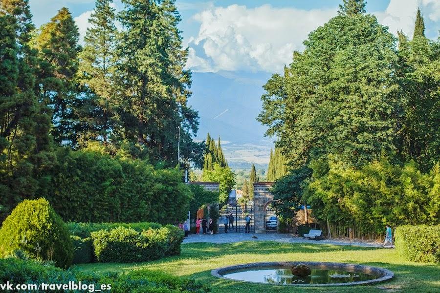 Ворота в сады Цинандали