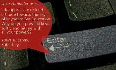 A Request from Enter Key
