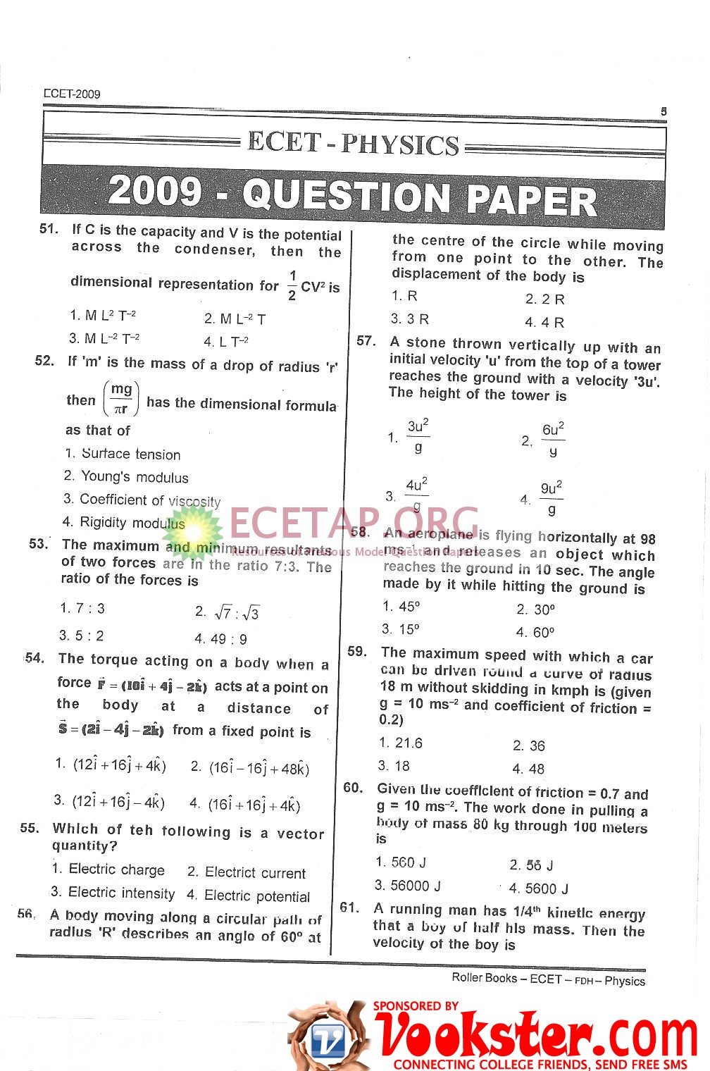 10 Years Ecet Question Papers pdf