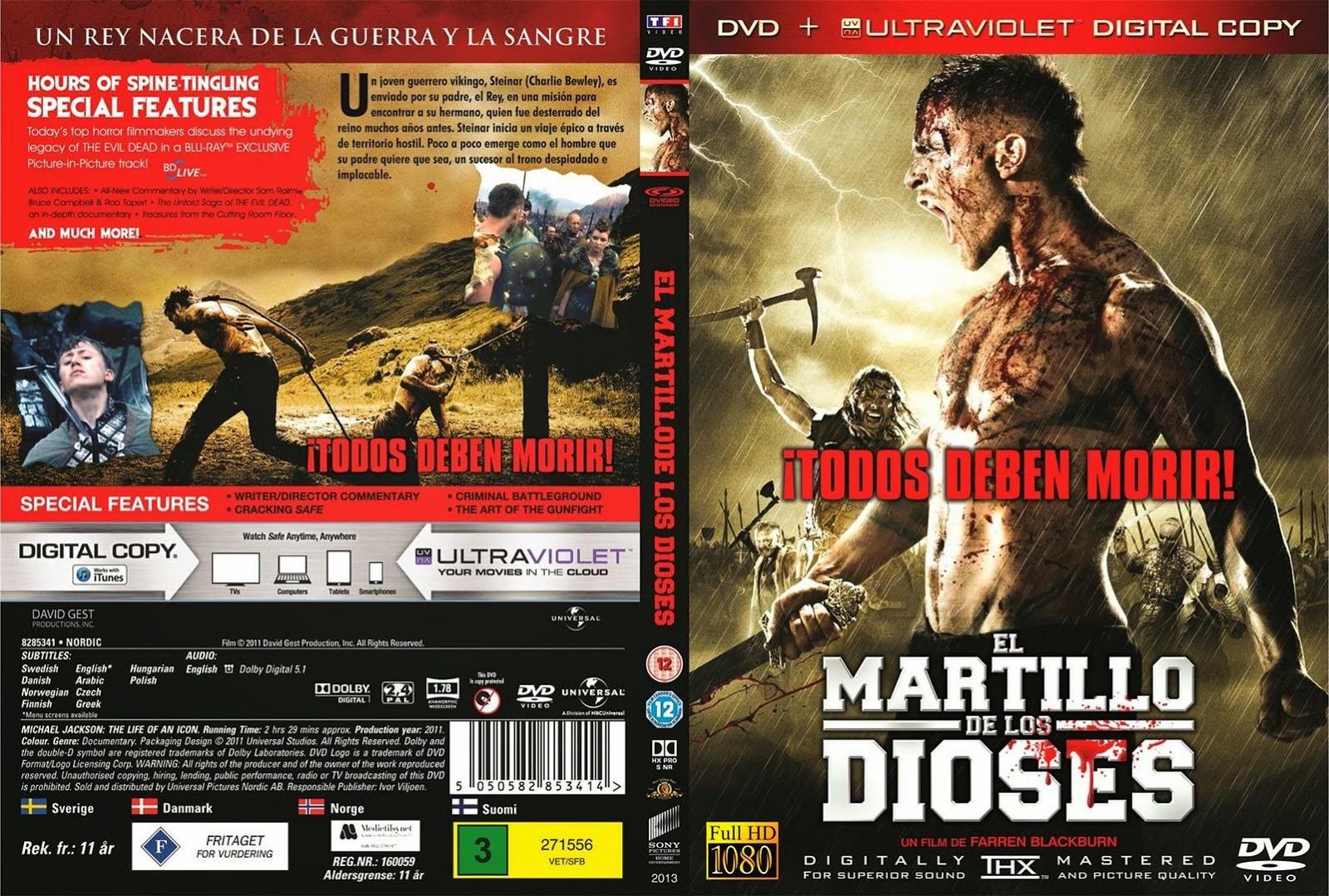 El Martillo De Los Dioses DVD