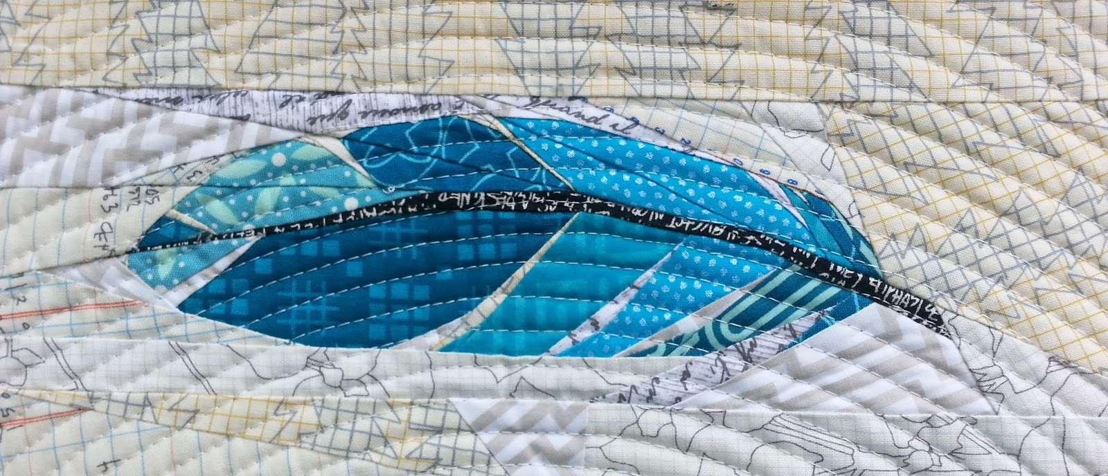 The Tartankiwi: A Flurry of Feathers : feather quilt pattern - Adamdwight.com