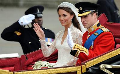 Foto nikah Pangeran William dan Kate Middleton