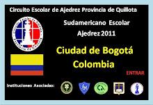 SUDAMERICANO ESCOLAR DE AJEDREZ BOGOTA COLOMBIA (01-DICIEMBRE-2011)