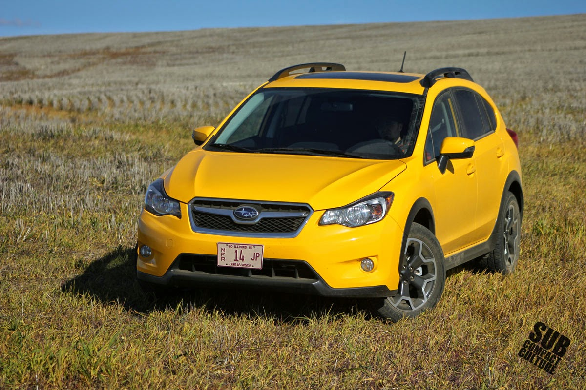 2015 Subaru XV Crosstrek Limited Edition Sunrise Yellow