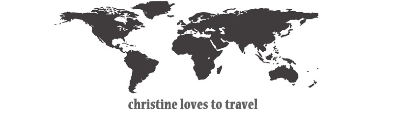 christine loves to travel