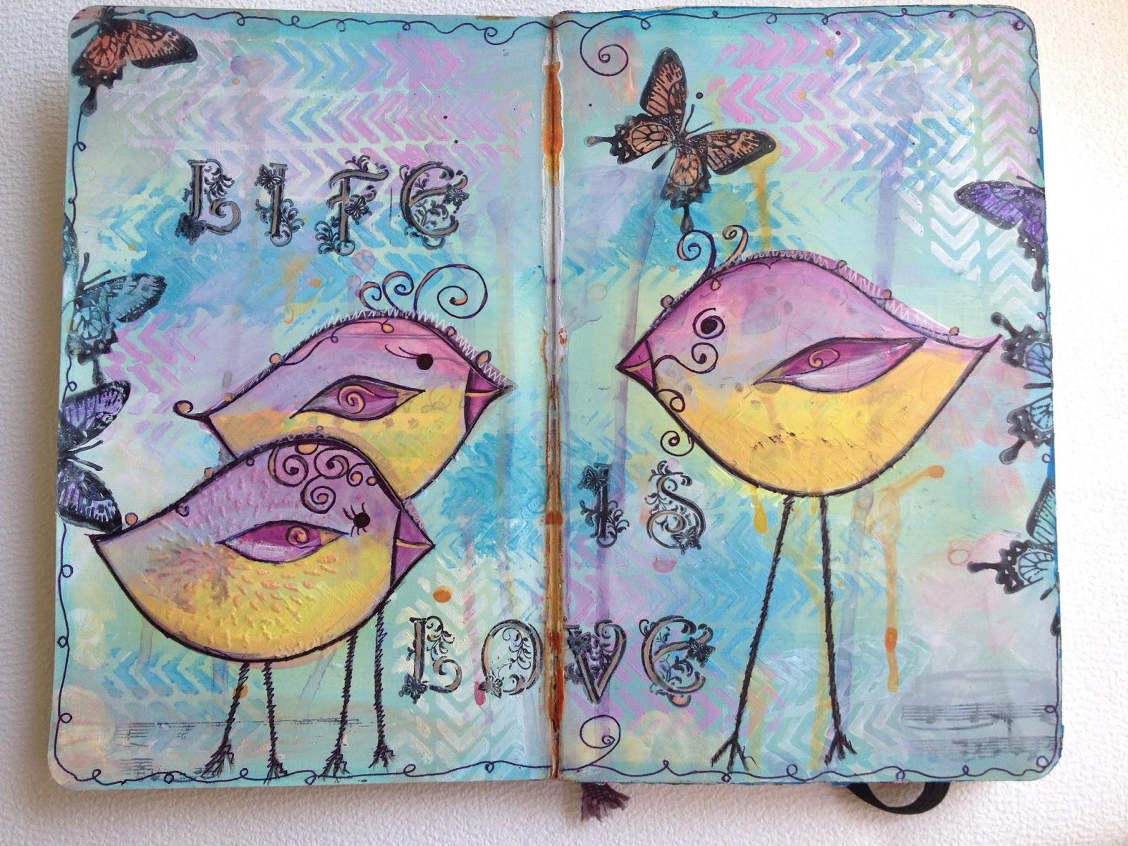 Как оформить обложку личного дневника