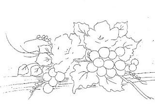 rosas e uvas