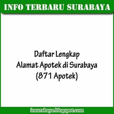 Daftar Apotek di Surabaya