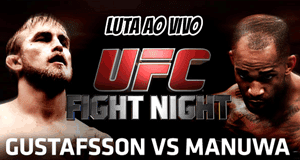 Luta AO VIVO: Gustafsson x Manuwa - UFC Fight Night 37