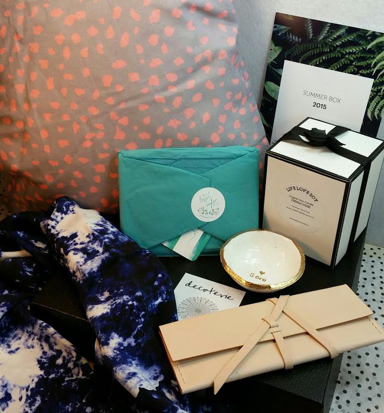 Decoterie Summer 2015 Home Decor Box Review And Coupon