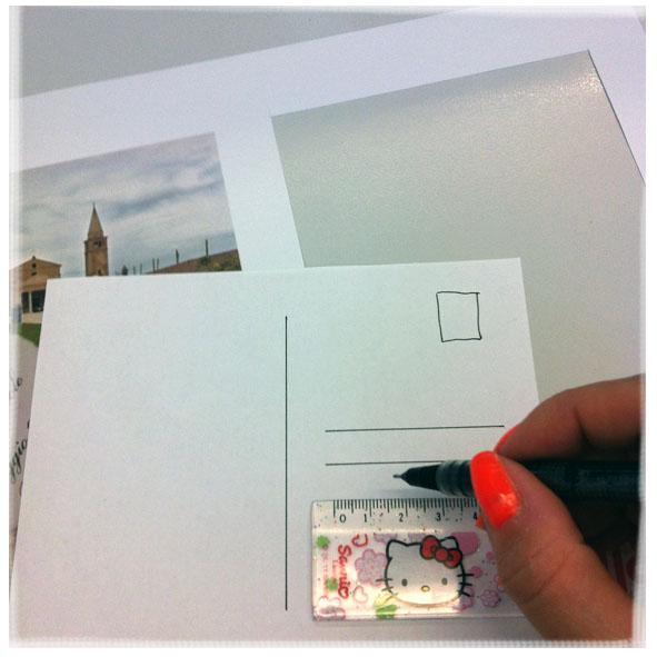 diy postcard