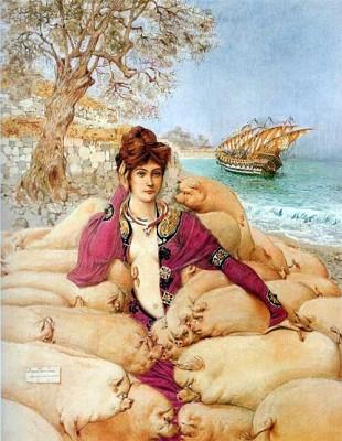 odysseus circe mossa