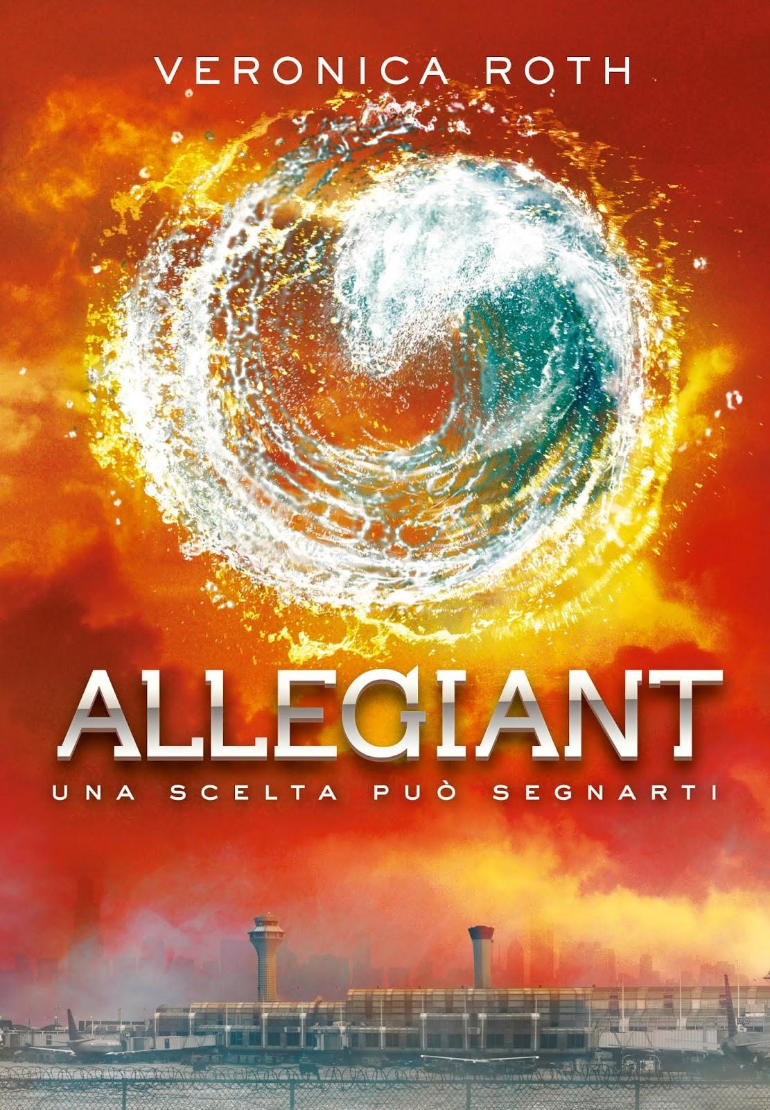 Allegiant - copertina romanzo.