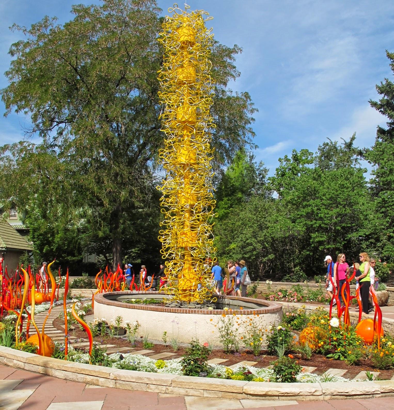 My Messy Room: Chihuly In Denver Botanic Gardens