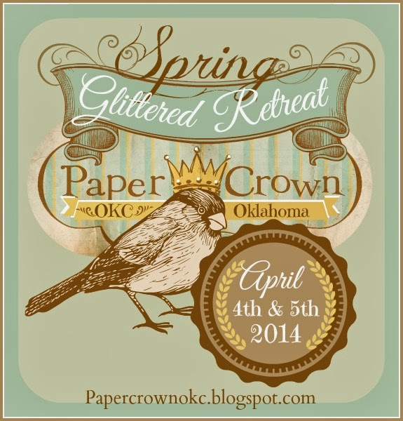 Paper Crown Glitter Retreat