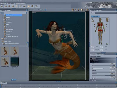 Free 3D Modeling Apps - DAZ 3D Studio