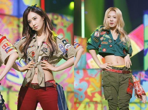 Girls Generation, Yuri, Hyoyeon, Shinhwa, Lee Minwoo