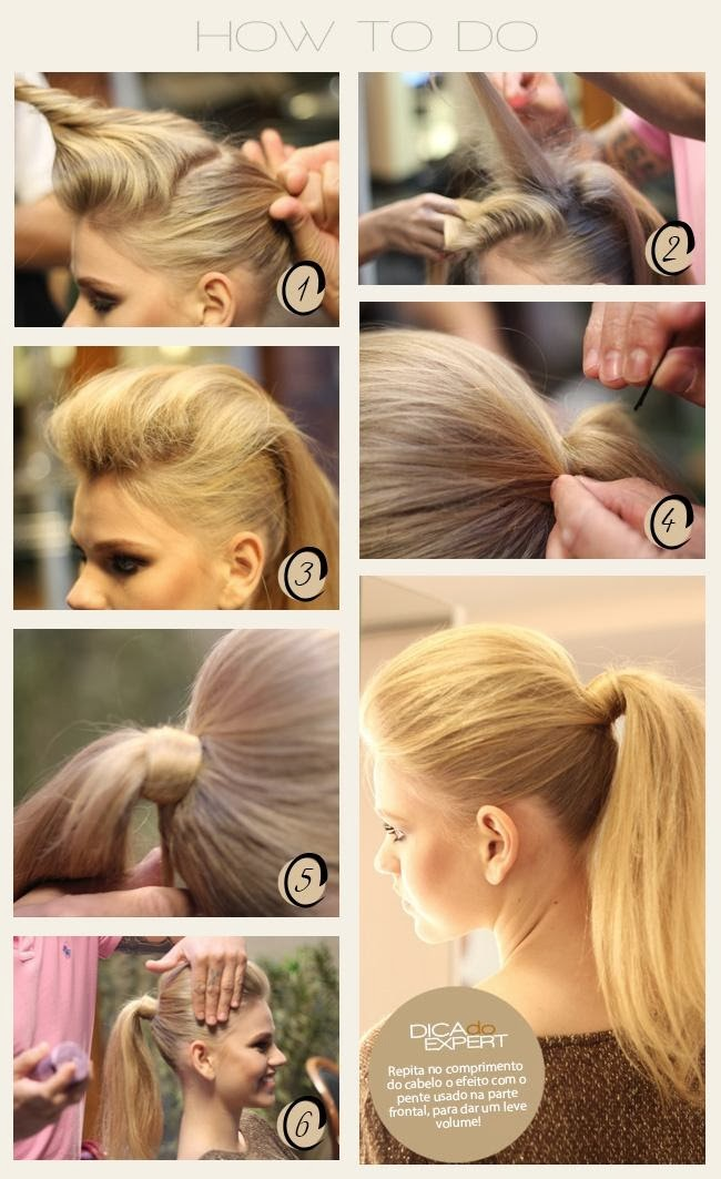 coiffure simple et rapide pour cheveux long