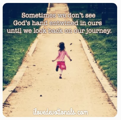 Sometimes we don't see God's hand until we look back