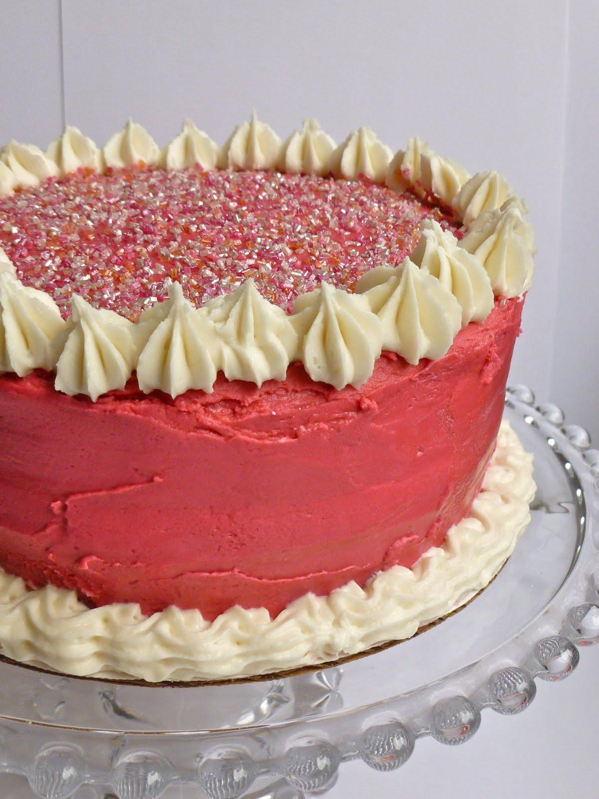 Sugar Mama's Vanilla Cake