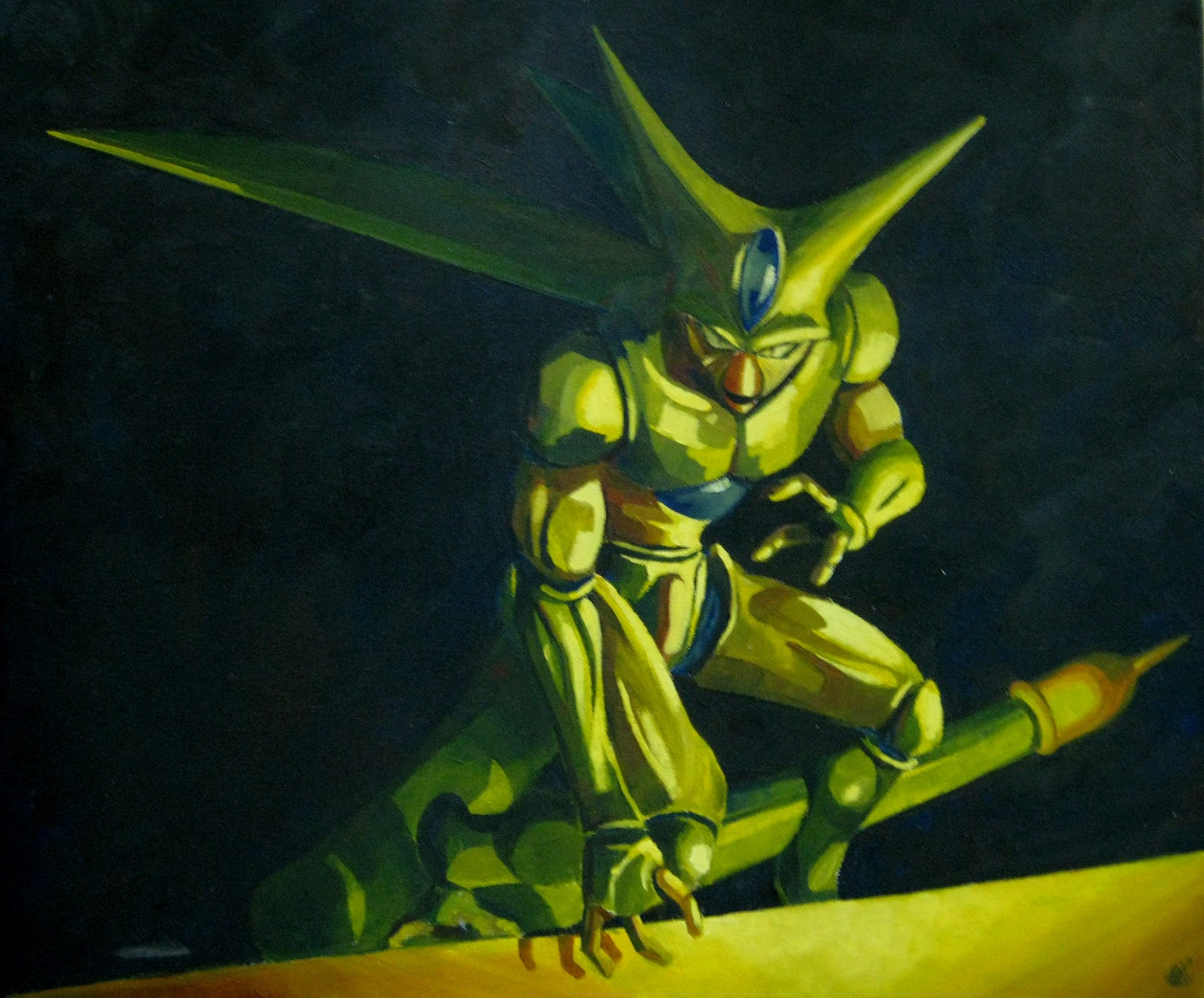 dragon ball z wallpapers imperfect cell
