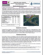 Boletn diario del Observatorio del Servicio Meteorolgico Nacional