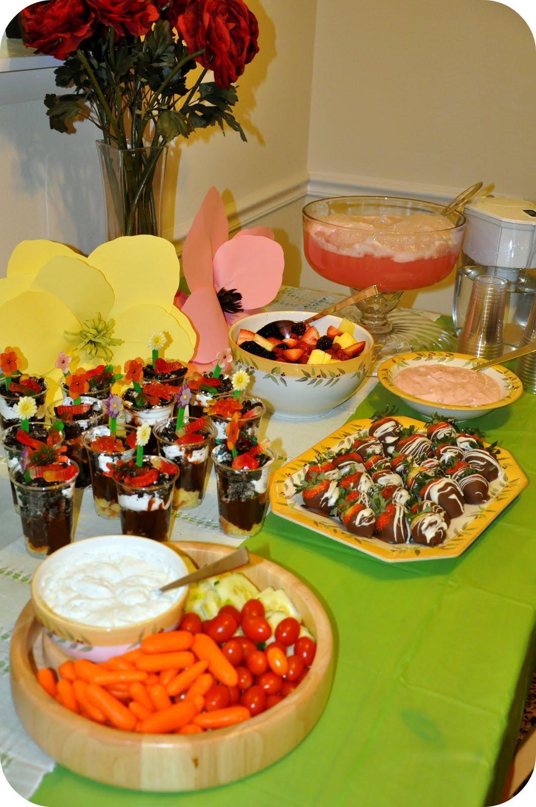 Garden Birthday Party Creative Juice