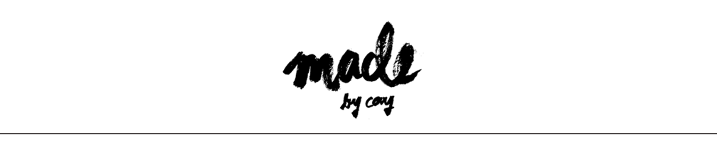 MADE BY CAY | a creative blog