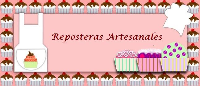 REPOSTERAS ARTESANALES