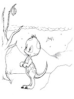 Dinosaurus Baby Printable Kids Coloring Pages