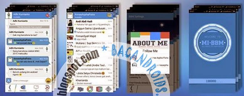 MI-BBM Mod Blue 2.7.0.21 apk