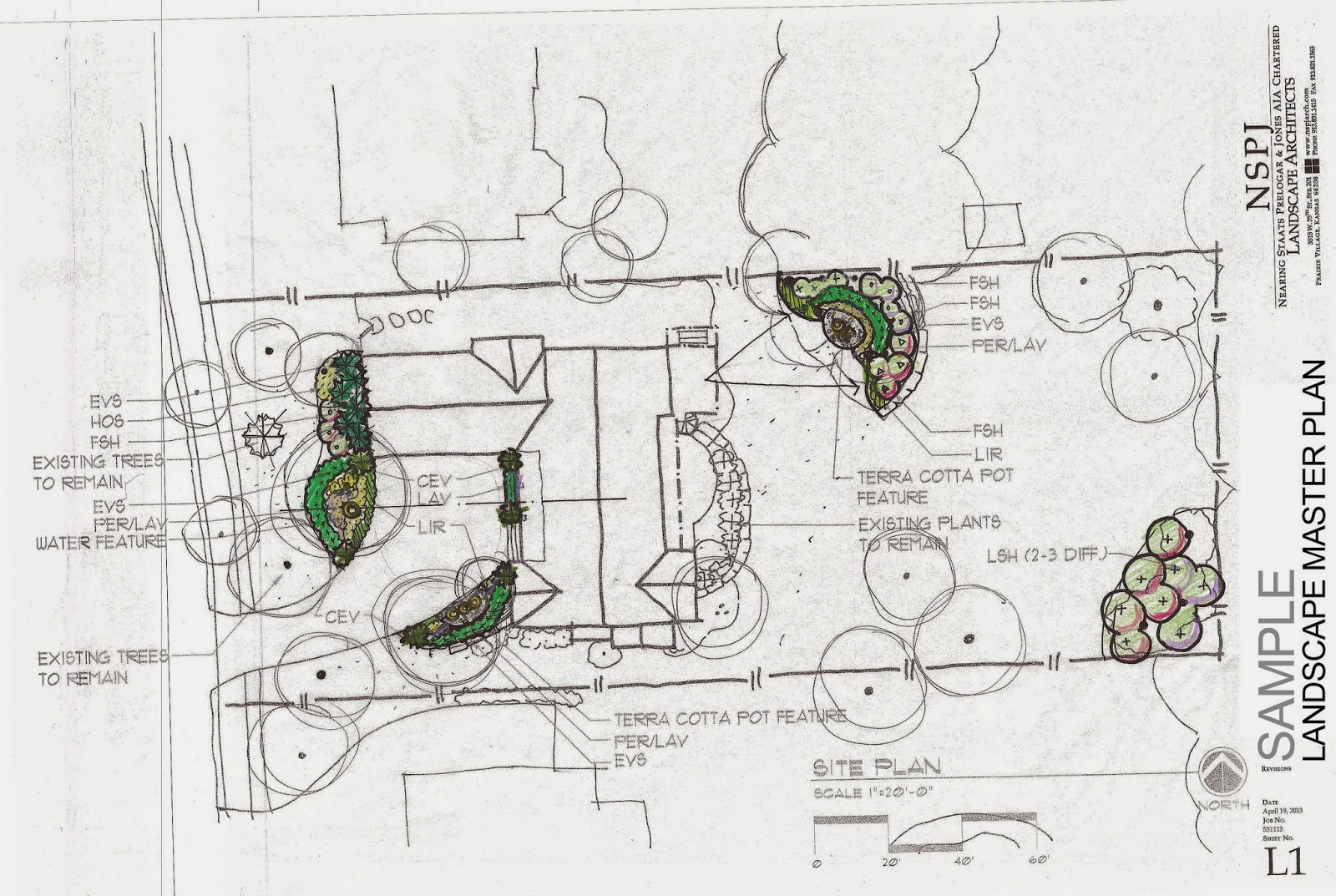 example of a landscape master plan